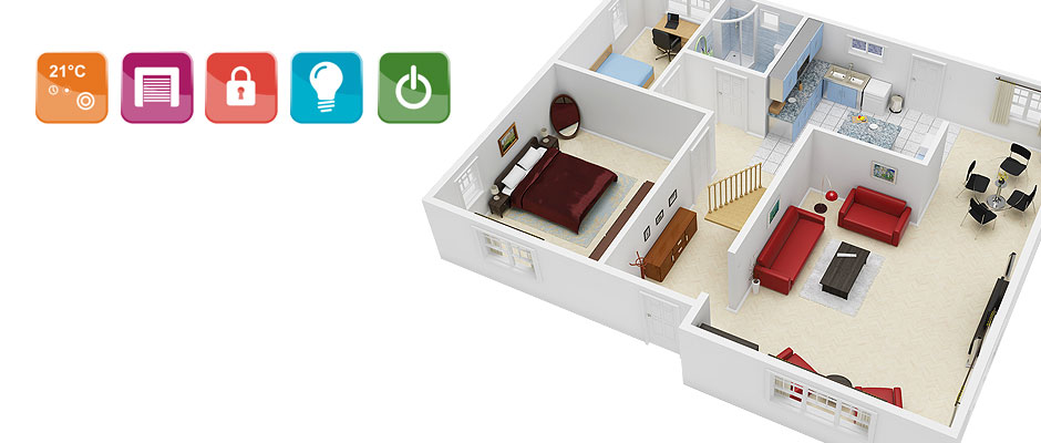 Wireless Network for Home Automation